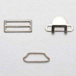 Boucle crochet ajustable pour ceinture 3 pièces