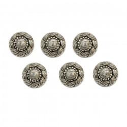 6 boutons turcs métal