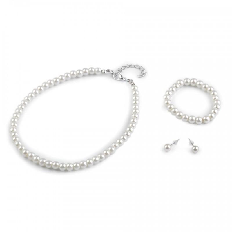 Parure 4 pièces perles Enfant