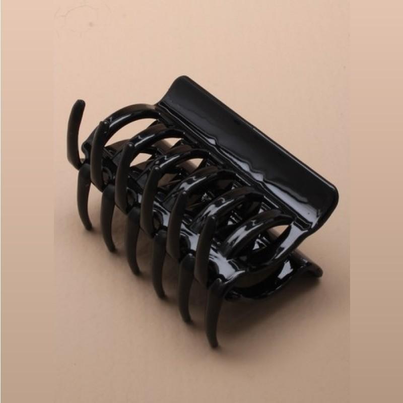 Pince cheveux noire 6 cm