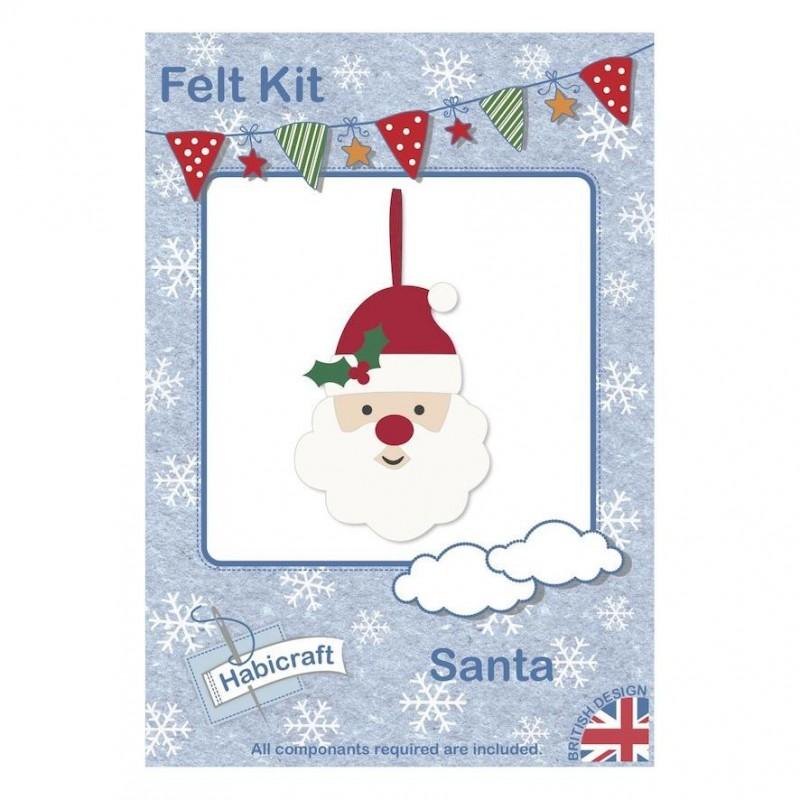 Kit créatif Père Noel en feutre