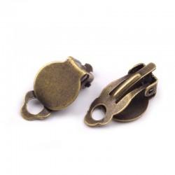 10 paires supports boucles d'oreilles pinces